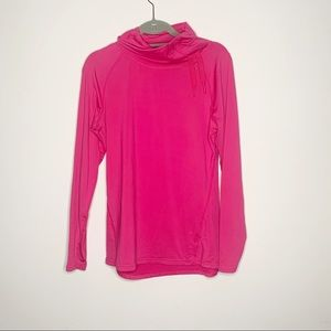 Danskin Layer 8 Pink Athletic Cowl Neck Pullover